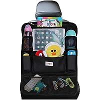 SURDOCA Car Organizer, 4th Generation Enhanced Car Seat Organizer with 10.5'' PVC-Free Tablet Holder, 9 Pockets, Road…