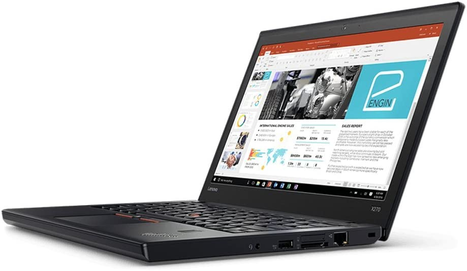 Lenovo Thinkpad X270 Laptop (20HN-001FUS) Intel i5-7200U, 8GB RAM, 256GB SSD, Win10