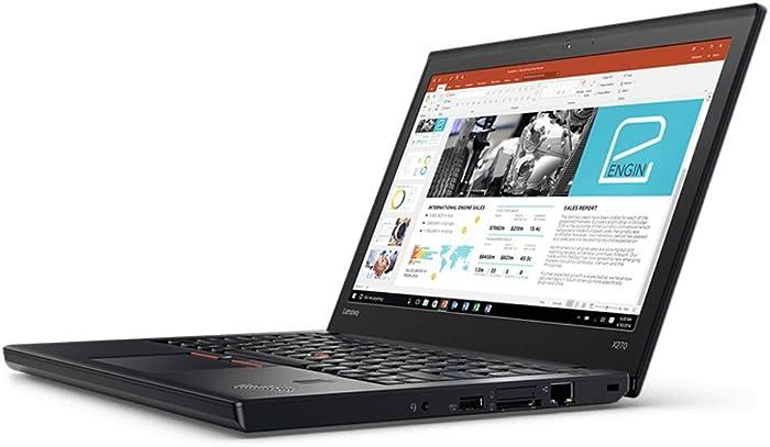 Lenovo Thinkpad X270 Laptop (20HN-001FUS) Intel i5-7200U, 8GB RAM, 256GB SSD, Win10