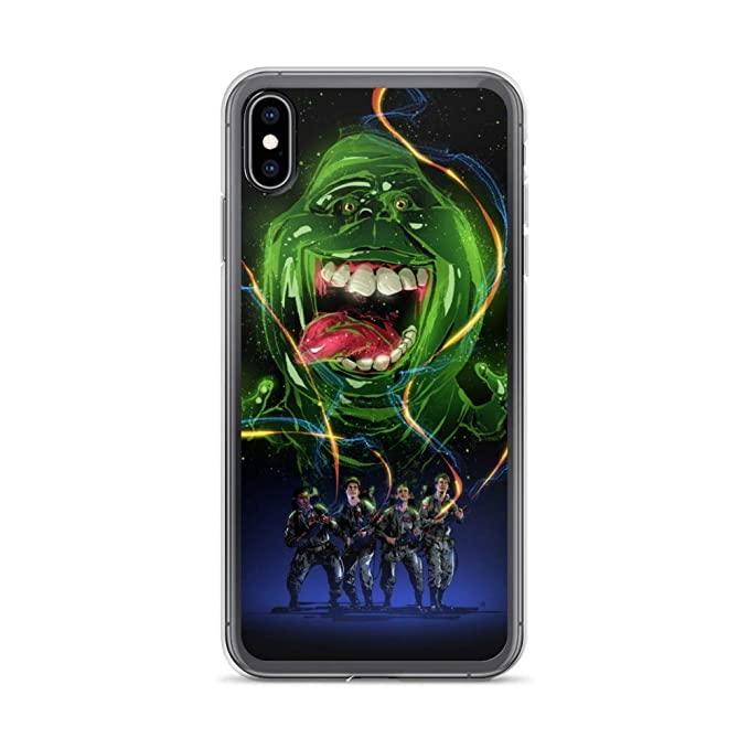 iPhone 7 Plus/8 Plus Case Anti-Scratch Motion Picture Transparent Cases Cover Ghostbusters Movie Fanart Movies Video Film Crystal Clear