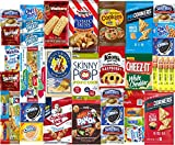 #3: Ultimate Snack Care Package, Variety Assortment of Chips, Cookies, Bars, Beef, Candies, Crackers, Hot Chocolate & More, 40 Count