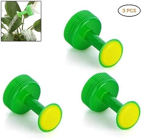Poapp Cabezales de riego para Botellas, 3 Piezas de riego de Botellas de plástico Botellas de riego Herramienta de rociadores para jardineros domésticos Semillas de plántulas de jardín: Amazon.es: Hogar