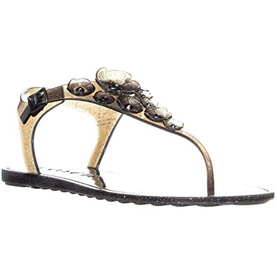 43818f798 Coach Womens Tea Rose Split Toe Casual Sport Sandals