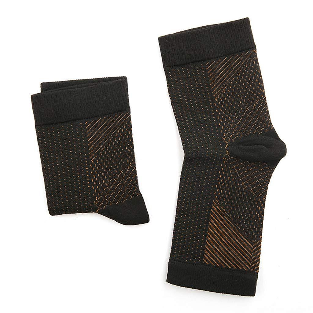 nero B, L//XL Vita-Wear Rame infuso Magnetico Supporto a compressione Compressione Qualit/à originale