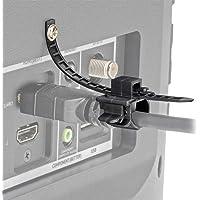 Tripp Lite P568-000-LOCK HDMI Cable Lock, Clamp/Tie/Screw, Universal Design for Blu-Ray Installations, Black