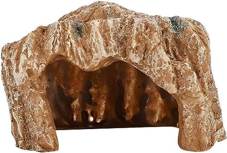 Cueva de reptiles, acuario, terrario, resina, rocalla, cueva ...