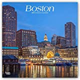 #10: Boston 2019 12 x 12 Inch Monthly Square Wall Calendar, USA United States of America Massachusetts Northeast City