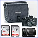 Cheap Olympus OM-D E-M10 Mark III (Mark 3) Mirrorless Digital Camera [Black] Body + M.Zuiko Digital ED 14-42mm f/3.5-5.6 EZ Lens (Black) + M.Zuiko Digital ED 40-150mm f/4.0-5.6 R Lens (Black)