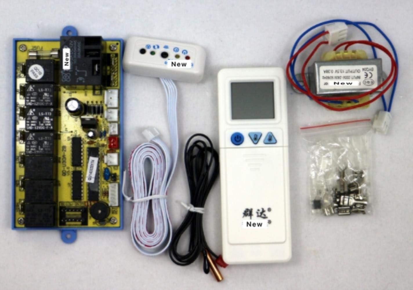 Miwaimao Aire acondicionado universal de la junta QD-U30A Techo de la m/áquina de succi/ón refit universal de la junta de la computadora de la junta de control de