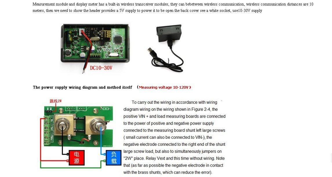 Amazon Vac1100a Lcd Voltmeter Ammeter Power Meter Capacity Ct Metering Wiring Diagram: Form 4s Meter Wiring Diagram At Outingpk.com