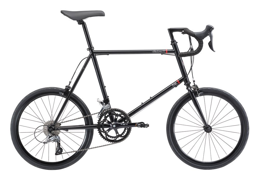 FUJI(フジ) HELION R 50cm 2x8speed BLACK ミニベロ 2018年モデル 18HLNRBK BLACK 50cm B075SYVRJJ