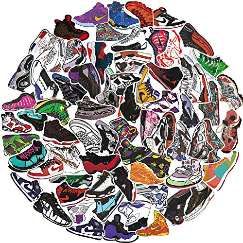 🥇 Basketball Shoes Stickers for Air Jordan