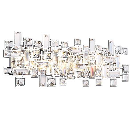 Paradigm 6 Light Bathroom Vanity Lights In Polished Chrome