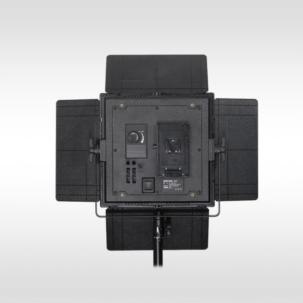 F-V Converter Adapter ILED-D Ultra High Power 700 LED Daylight Panel Light with V-Mount Plate and Smart SYNC Control