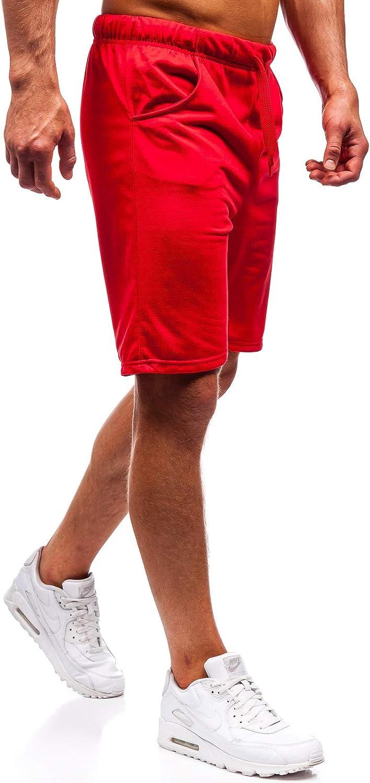 BOLF Pantaloncini Corti di Tuta da Uomo 7G7