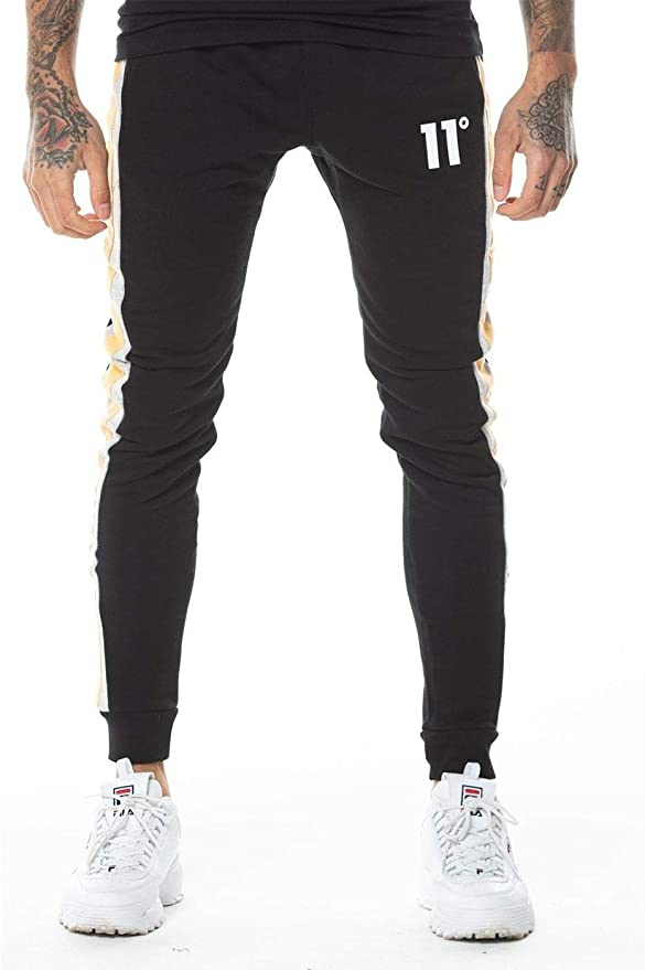 11º Leon Joggers Pantalón para Hombre - algodón: Amazon.es: Ropa y ...