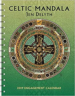 celtic mandala 2019 engagement datebook calendar
