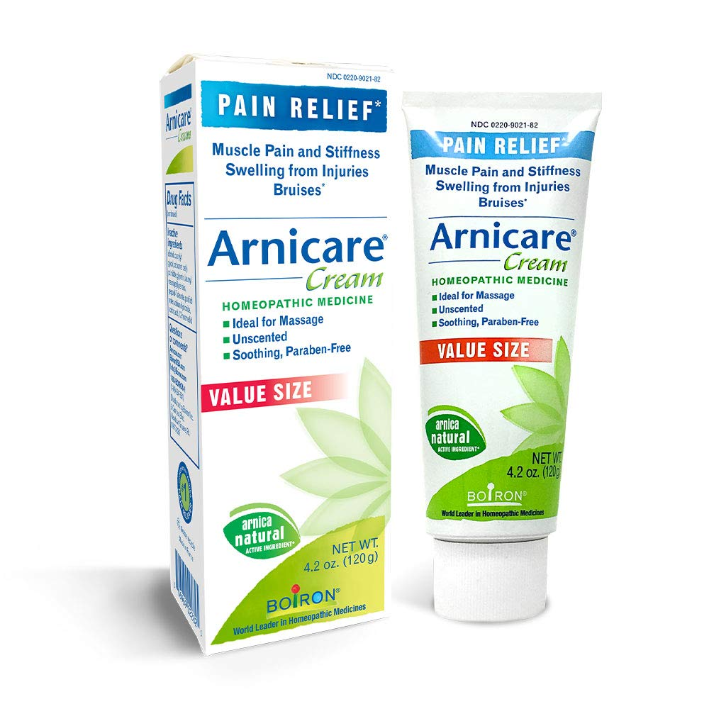 Boiron Arnicare Cream 4.2 Ounce Homeopathic Medicine for Pain Relief by Boiron