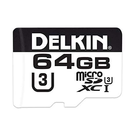 Delkin Devices 660 64 GB Micro SD Tarjeta de Memoria: Amazon ...