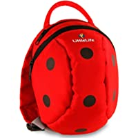 LittleLife Toddler Daysack Ladybird, kids rucksack with detachable reins!