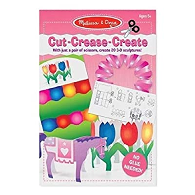 Melissa & Doug Cut Crease Create Toy, Pink: Toys & Games