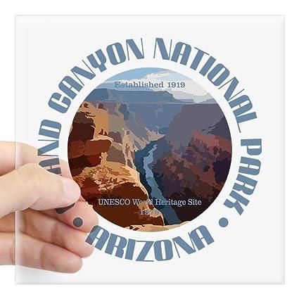a6e7e29040 Amazon.com: CafePress Grand Canyon NP Sticker Square Bumper Sticker ...