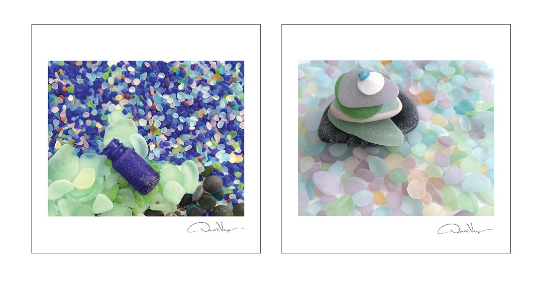 2015 SEA GLASS Fine Art Nature Wall Calendar 12X12 - A Unique Great Birthday, Anniversary, Valentines Day, Mothers Day, Wedding & Best Christmas Gift by Donald Verger Photography (Image #4)