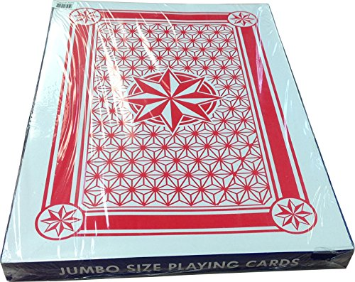 Giant Plastic Coated Playing Cards by Vegas Gaming Supplies