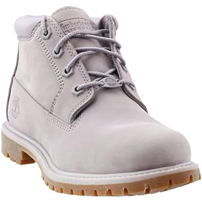 Timberland Women s Nellie Chukka Double WP Boot Gull Grey 449b212212