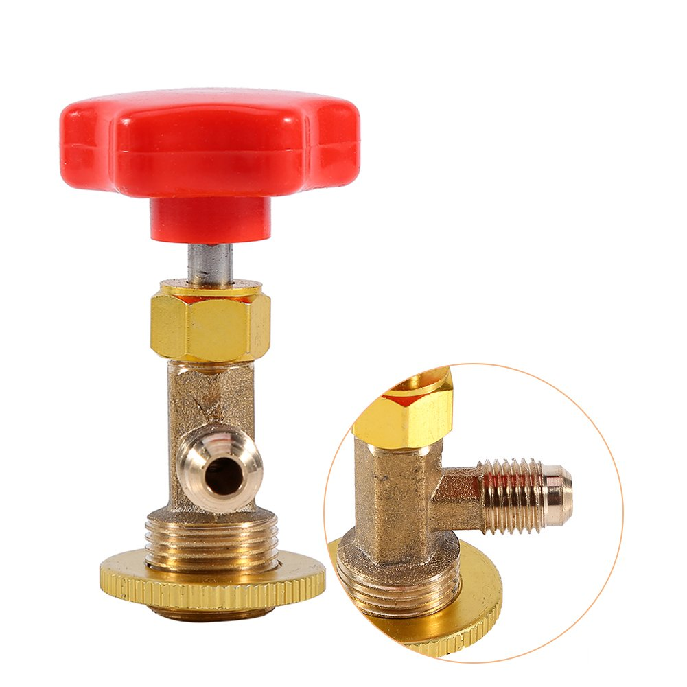 M14//1//4 Car AC Can Tap Valve Bottle Opener Dispensing Valve Auto Air Conditioning Refrigerant Can Tap Valve for R134a