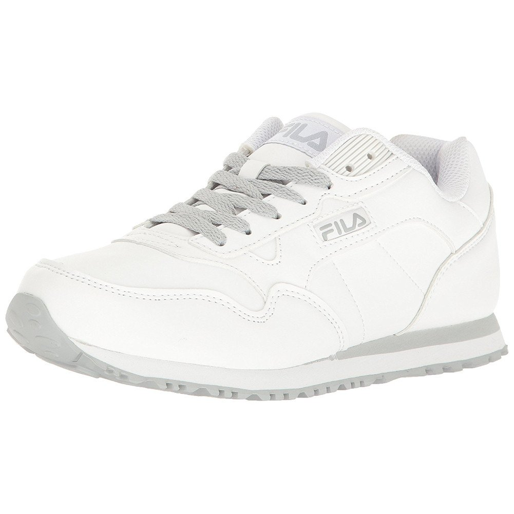 Fila Women's Cress Walking Shoe B077DXHWCG 7.5 B(M) US|White, White, Highrise