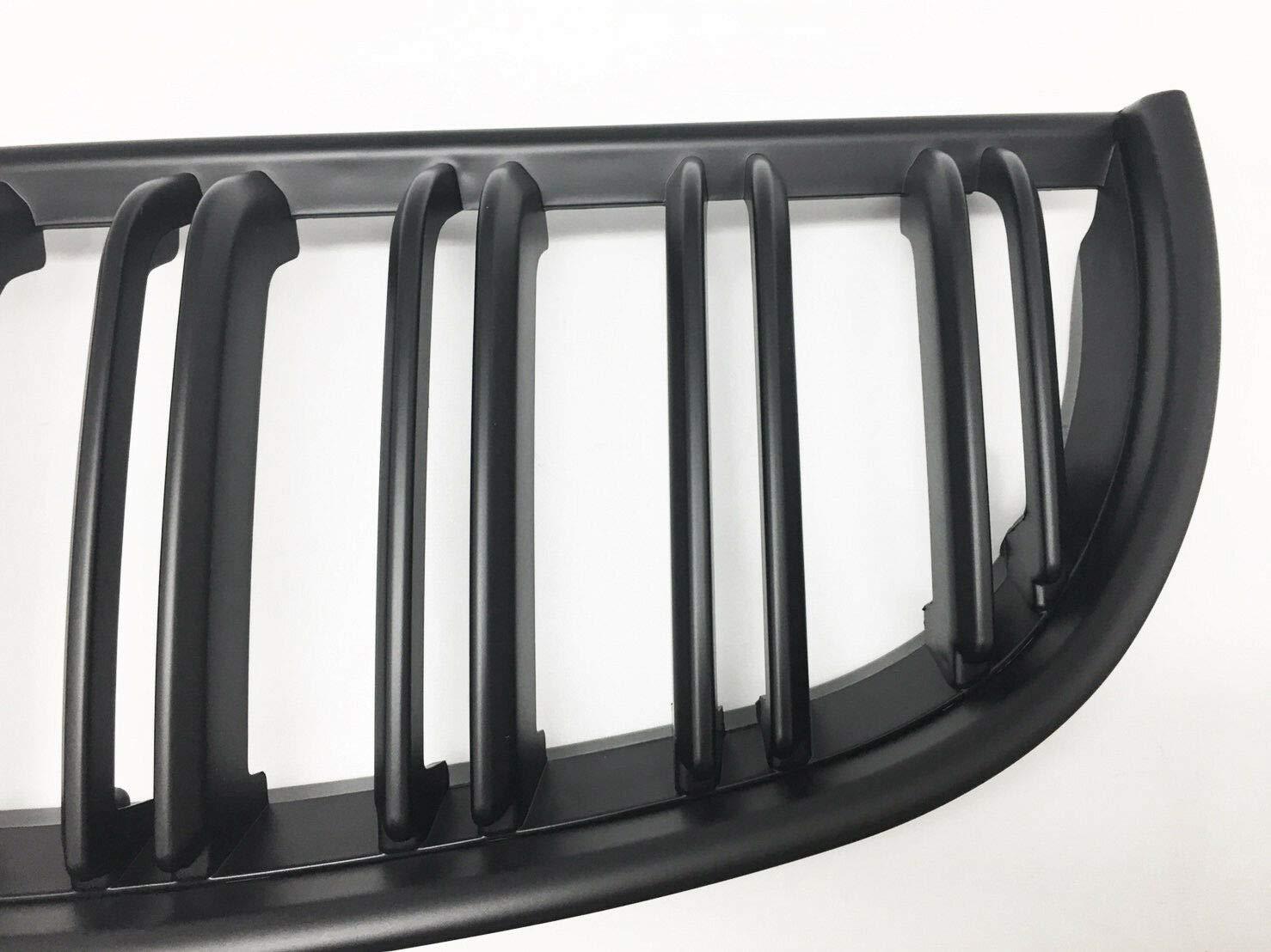 color negro mate Parrillas delanteras para ri/ñ/ón deportivo E90 318 320i 325i 330i 04-07