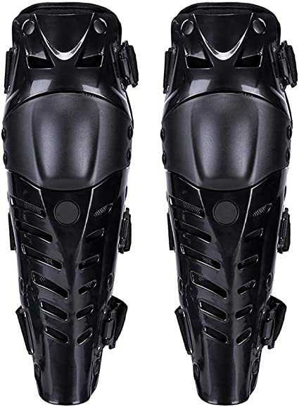 Miaohaiyan Motorrad Knie Knie Ellenbogen Lange Schienbeinschutz Rüstungsschutz Schienbeinschoner Für Motocross Fahrrad Skateboard Fahrrad Das Taktischen Sport Läuft Armschützer Schutzausrüstung Sport Freizeit