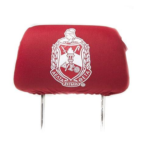 Amazon Com Delta Sigma Theta Red Car Seat Headrest Cover Sports