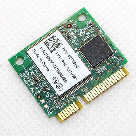 Tarjeta de memoria Intel Turbo 2 G media tamaño Mini PCI-E Model 42T0990 42T0991: Amazon.es: Electrónica