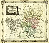 Austrian Circle of the Holy Roman Empire - Panoramic Map