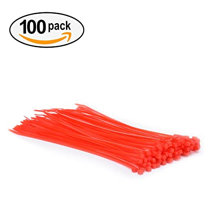 Amazon.com: Multi-Purpose Cable Ties with Cable Matter (Pack of 100 ...