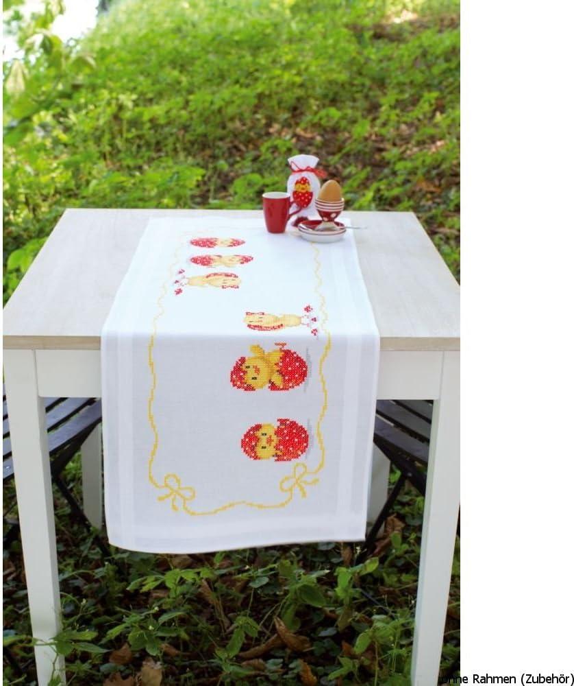 Kit chemin de table Joyeuses P/âques