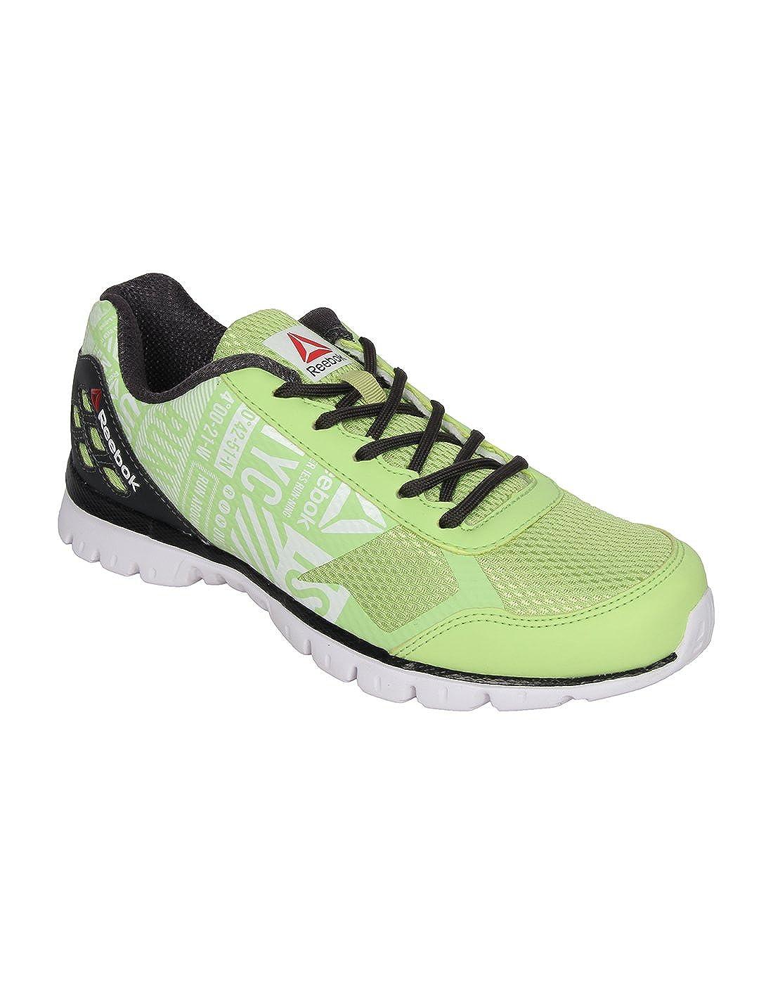 e70a3a75a58c6 Reebok Men s Lime Gravel Running Shoes - 6 UK India (39 EU)(8.5 US)   Amazon.co.uk  Shoes   Bags
