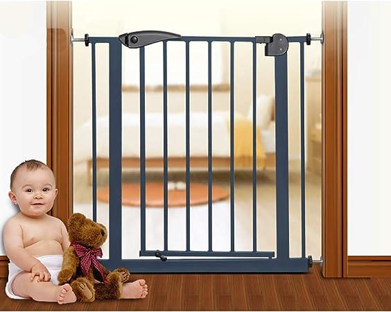 H&RB Perro de Seguridad Valla Valla Puerta de Seguridad para niños Cerca de la Barra de Aislamiento Puerta de Seguridad para bebés Puerta de la Escalera, 85-194 cm,B,105/114cm: Amazon.es: Hogar