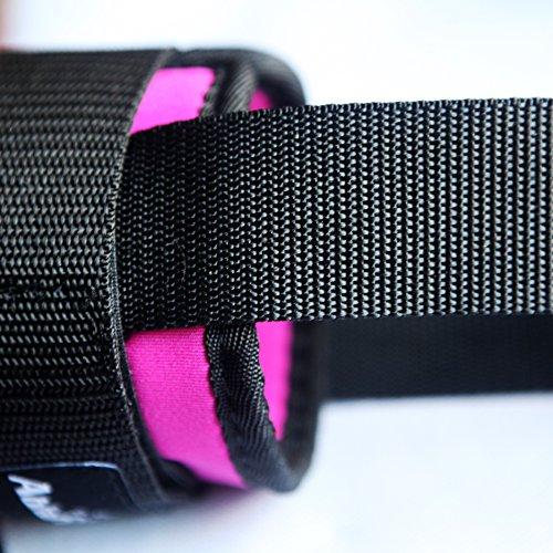 cable machine leg straps
