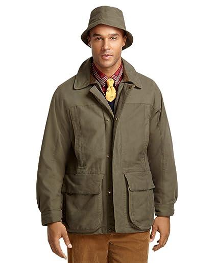 Brooks Brothers y Beretta Cordura pana cuello caza chaqueta ...
