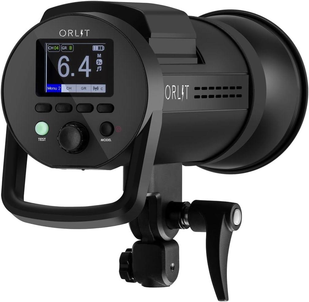 Bowens Mount Battery-Powered Monolight with TR-Q6 Studio Flash Trigger for Nikon Non-TTL ORLIT RoveLight RT 601 HSS
