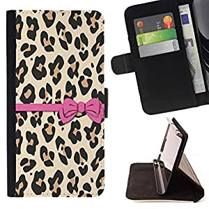 Dragon Case- Caja de la carpeta del caso en folio de cuero del tir¨®n de la cubierta protectora Shell FOR Samsung Galaxy S3 III I9300 I9308 I737- Leopard