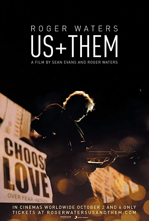 printdesign Roger Waters Us Them - Movie Poster Wall Decor ...
