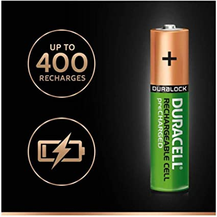 Duracell Pre Charged Rechargeable Nimh Batteries Aaa Elektronik