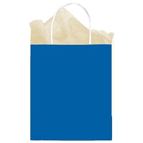 amscan 169853-105 - Bolsas de Papel para Regalo (25 x 20 x ...