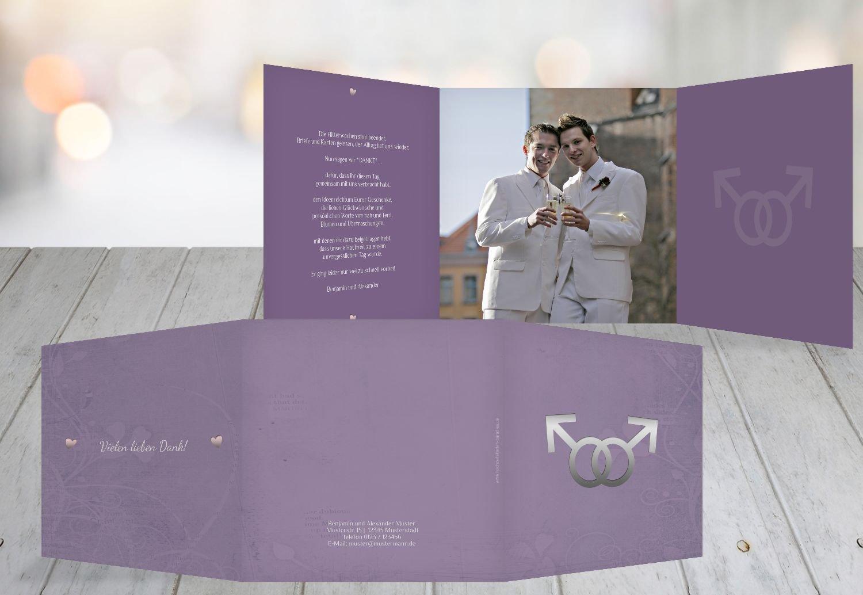 Kartenparadies Danksagung für Hochzeitsgeschenke Danke Im Zeichen der Liebe - Männer, hochwertige Danksagungskarte Hochzeitsglückwünsche inklusive Umschläge   10 Karten - (Format  145x145 mm) Farbe  dunkelOrange B01MUD7RMB | Niedr