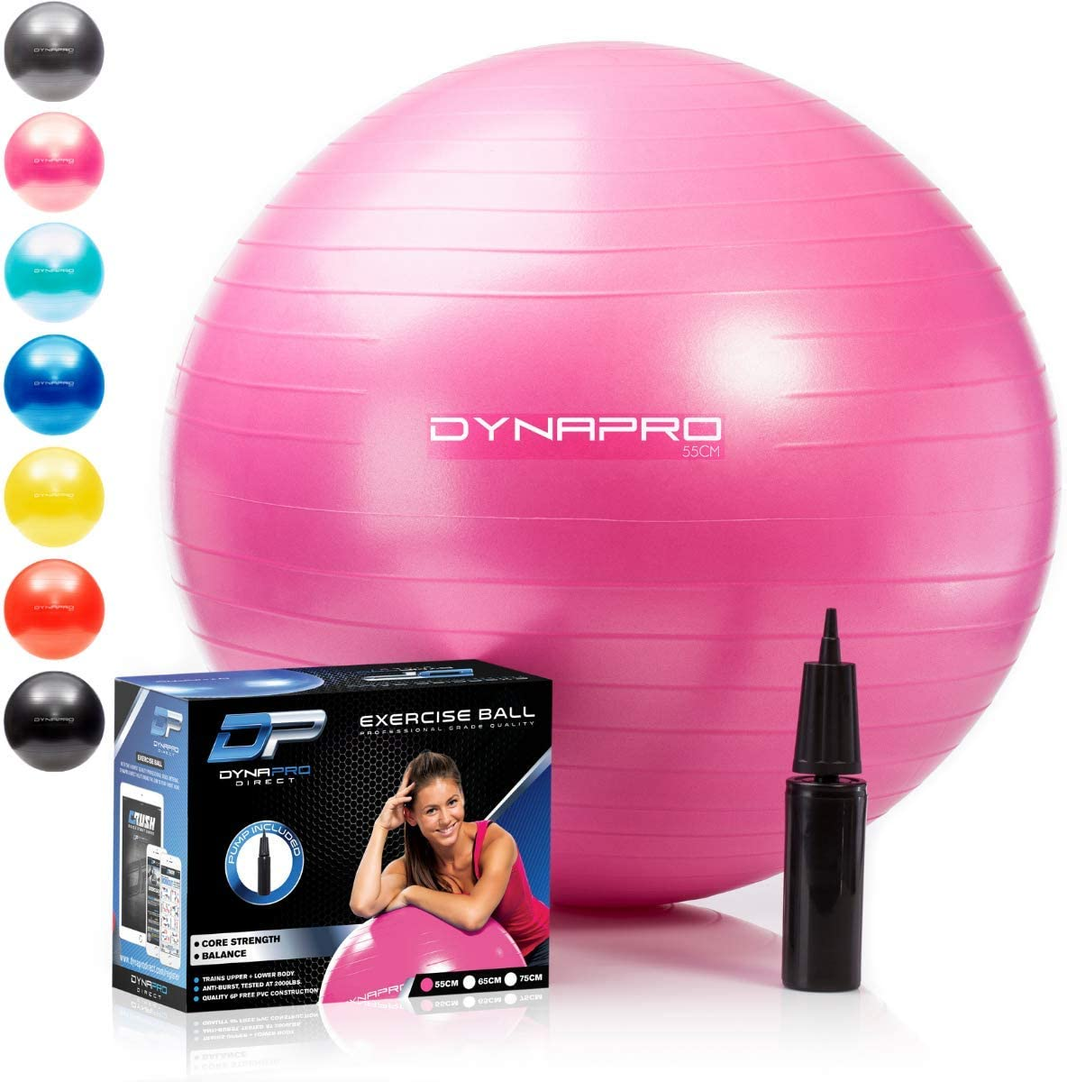 Classification of exercise balls on the market today