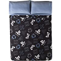 JORGE'S HOME FASHION INC Limited Edition Playstation Original License Teens-Kids Boys Light Blanket Very Softy and Warm Twin Size
